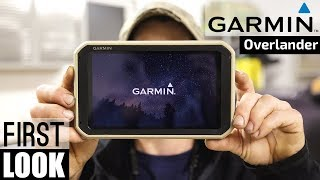 ALL NEW!!! GARMIN OVERLANDER - FIRST REVIEW - 4x4 Satellite Messaging and GPS Navigation