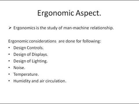 Lecture18 Chapter1 Ergonomic Aspect In Machine Design.