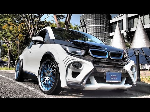 Bmw I30 >> 2015 Bmw I30 The Electric Car Of The Year Youtube