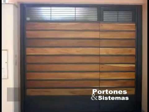 Fotos de portones youtube for Portones de madera modernos