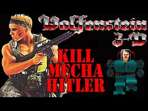 BRUTALS Wolfenstein 3D MECHA HITLER MUST DIE!