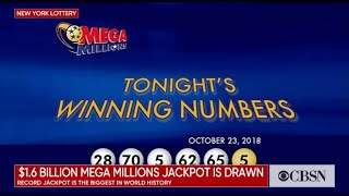 Mega Millions winning numbers drawn for record $1.6 billion jackpot