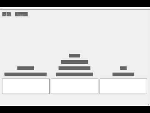 Компьютер решает ханойские башни