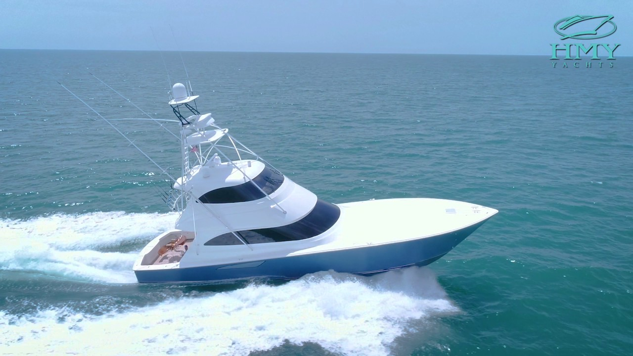 8aede768 2016 Viking Yachts 62' Enclosed Bridge - Free Spool - For Sale With HMY