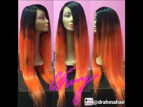 Diy Dye Your Roots Black On Your Full Lace Unit V R Hair Shop