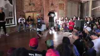 M-PACT & LOGISTX | Underground Flow Bonnie and Clyde Throwdown (B-boy Summit 2014)
