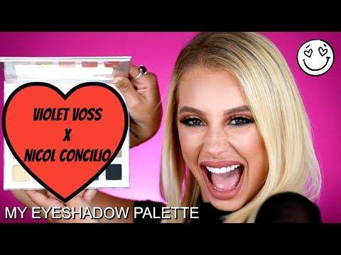 Violet Voss x Nicol Concilio EYESHADOW PALETTE REVEAL