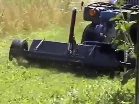 Ελκόμενος Καταστροφέας Trolla 13 hp