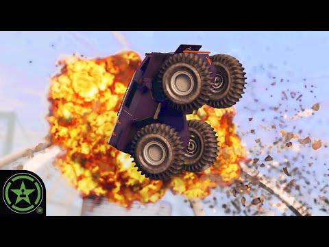 Juggling A Tank With Rockets - GTA V: Free Play
