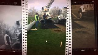 GEOTERRA® GTO Mat System Provides Turf Protection & Construction Site Access
