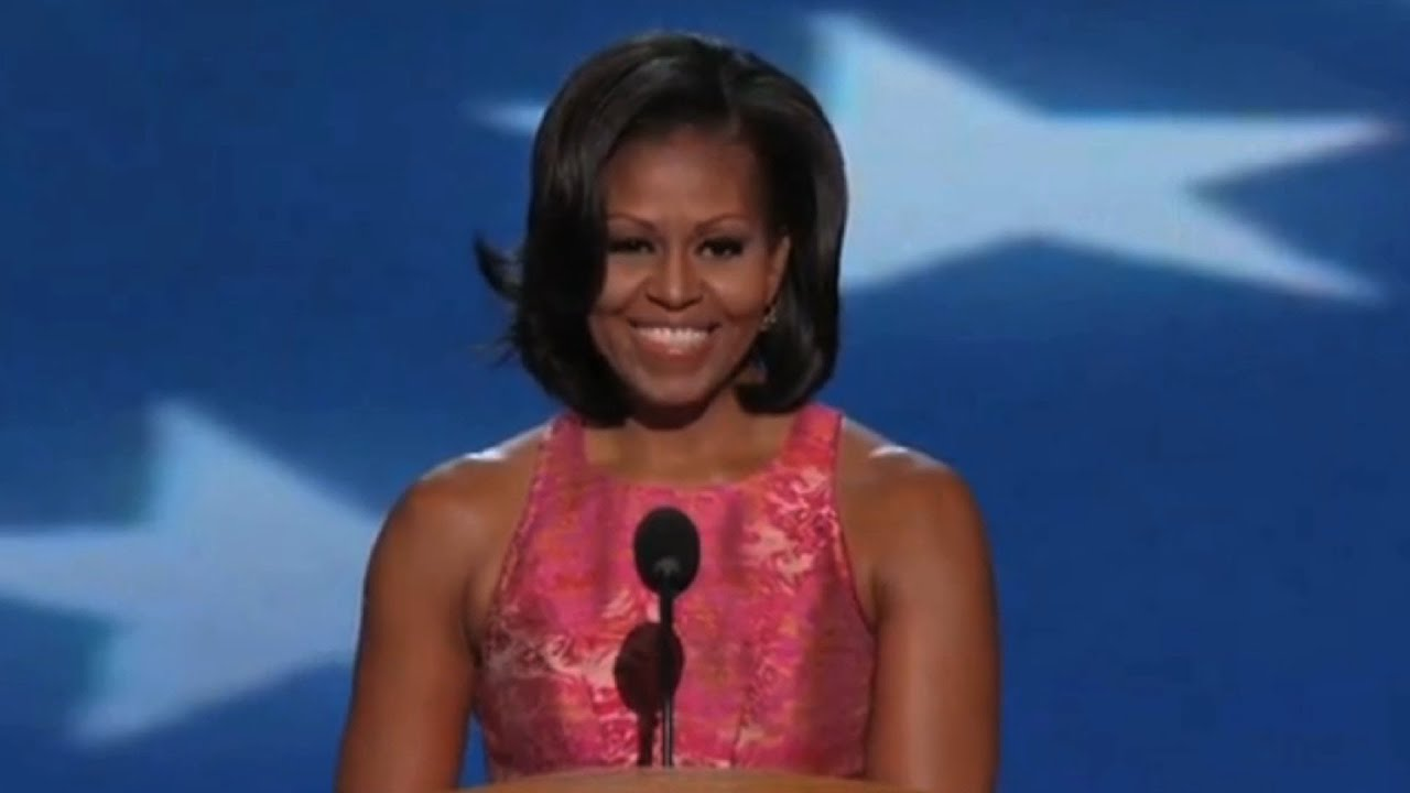 First Lady Michelle Obama's Remarks at the 2012 Democratic National Convention - Full Speech