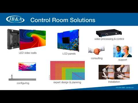 Control Room Solution | JB&A Distribution