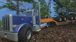 Farming Simulator 2015 Mods- Kenworth K100 & Peterbilt 379