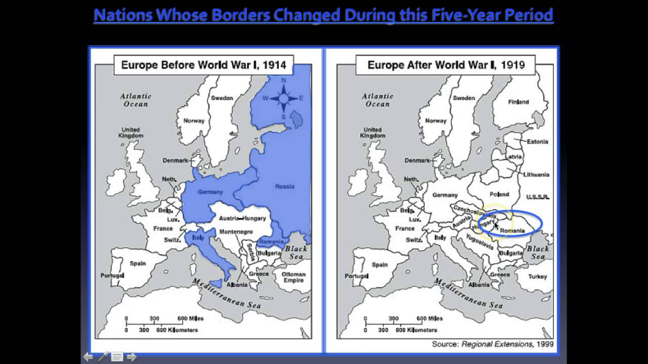 Map Europe Before Ww Thefreebiedepot - Before and after world