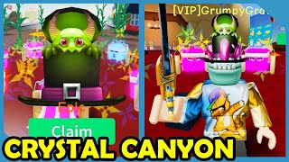 New Update! Crystal Canyon Area & Buying Destiny Sword - Roblox Unboxing Simulator