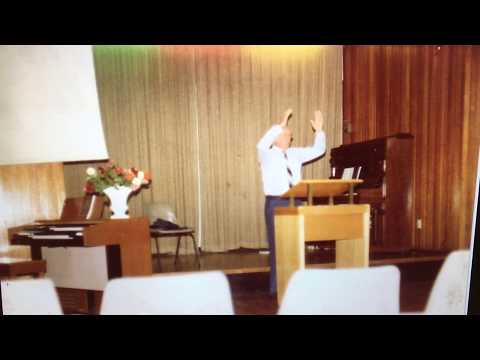 "Ps Bill Hawkins - Pen-Y-Groes Apostolic Convention in Wales 1965 ""THE GLORY OF GOD"""