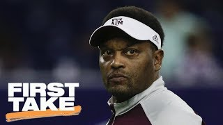 Stephen A. Smith says Texas A&M coach should be on hot seat after UCLA loss | First Take | ESPN