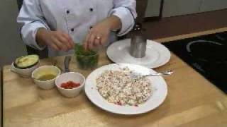 How To Cook Crab Salad-- Look What's Cookin'- Culinary Institute Of Virginia
