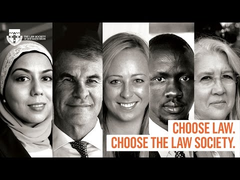 Choose law. Choose the Law Society.