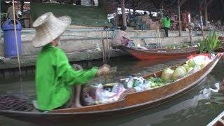 Floating Market, Damnoen Saduak, Thailand / Pływający Targ, Damnoen Saduak, Tajlandia