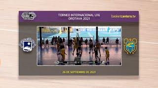 U16M - CB SAN ISIDRO vs CAJASIETE CANARIAS. 7/8 puesto. Torneo Internacional Villa de la Orotava 21