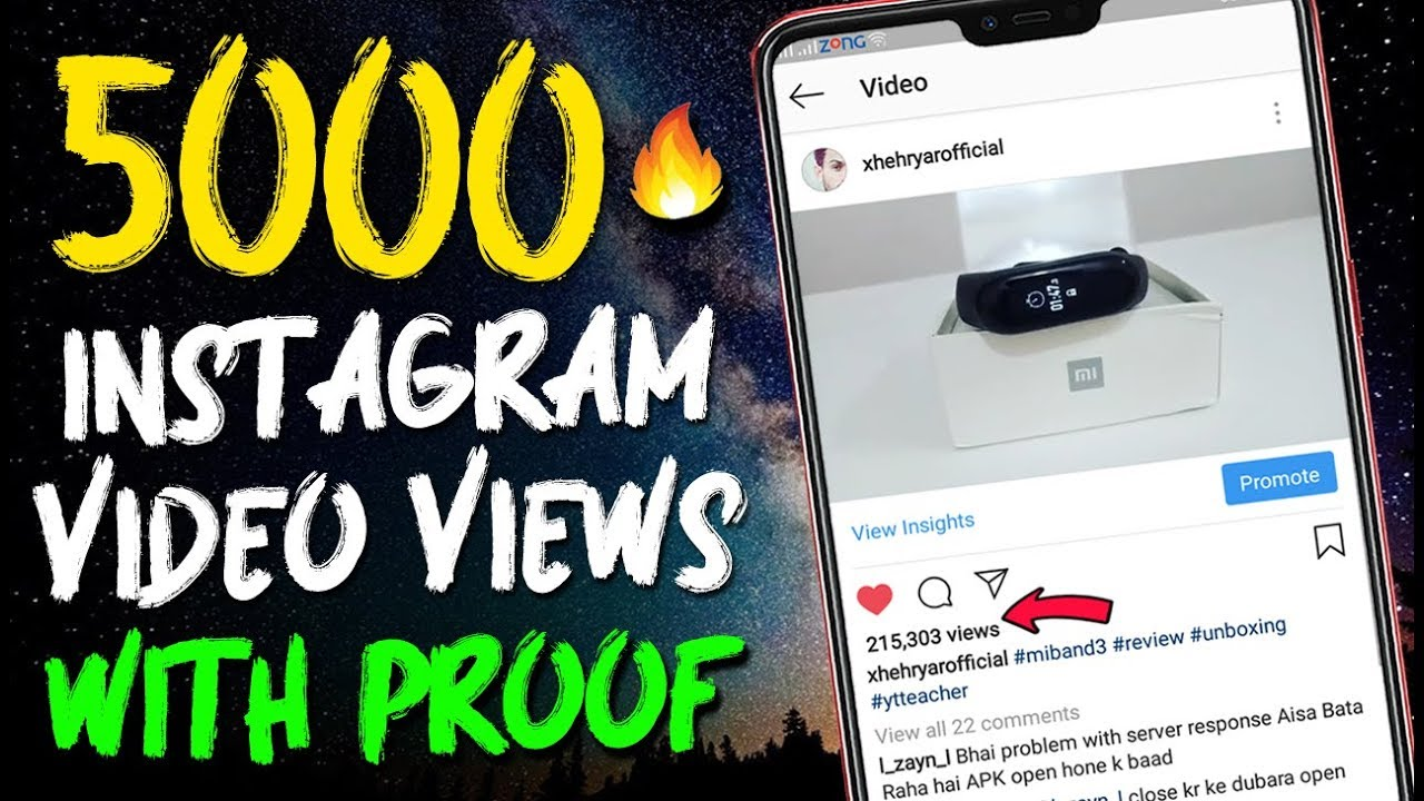 5000 INSTAGRAM Video & Story Views 2019 - How to increase INSTAGRAM Views -  instagram story views