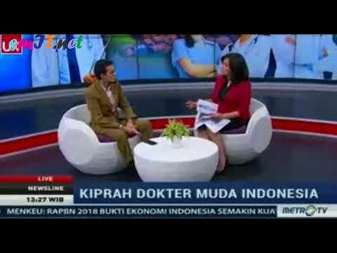 NEWS LINE : KIPRAH DOKTER MUDA INDONESIA YANG MENDUNIA
