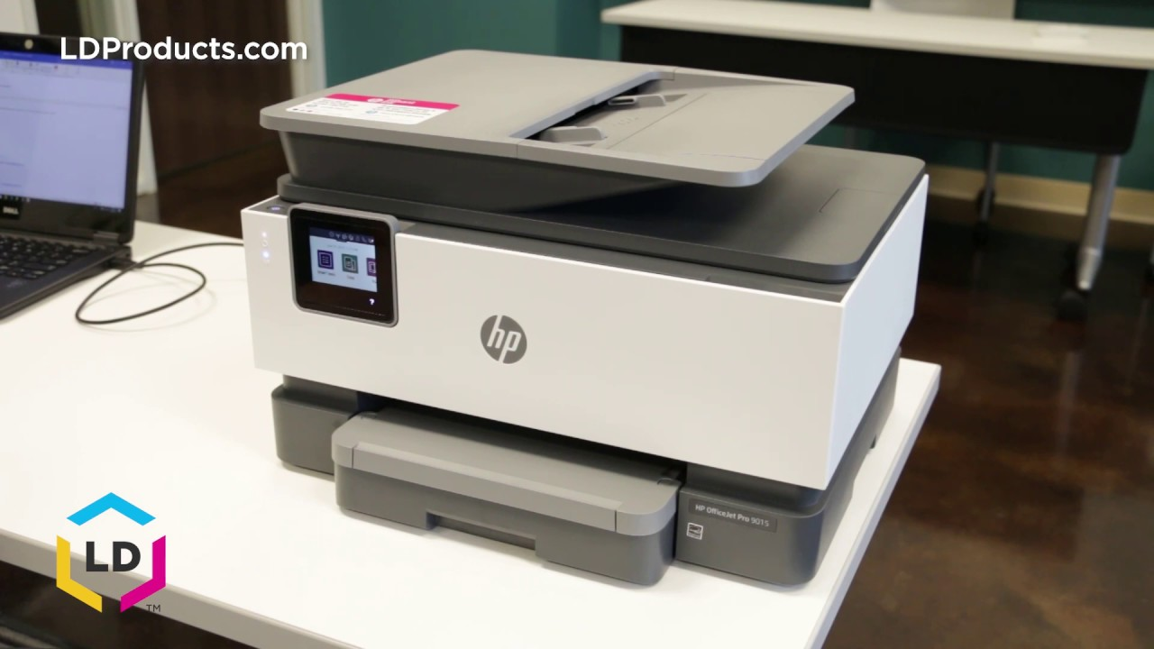 How to Check the Ink Levels on the HP OfficeJet Pro 9015 and 9025