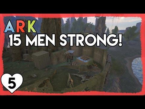 TEAMWORK MAKES THE DREAM WORK | Ark Survival Evolved | Season 4, Episode 5 | Let's Play