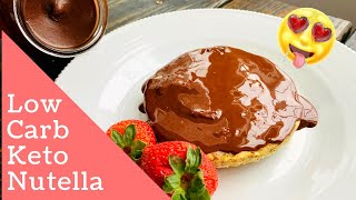 Homemade Nutella Recipe That's Even Better than the Original!  Keto/Low Carb recipe