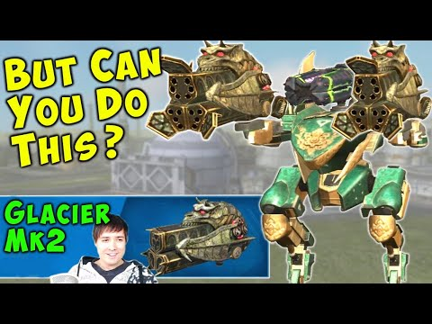 Freezing Falcon - Mk2 GLACIER & Glory War Robots Live Stream Gameplay WR