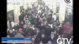 Взрыв в минском метро. Записи с камер видеонаблюдения