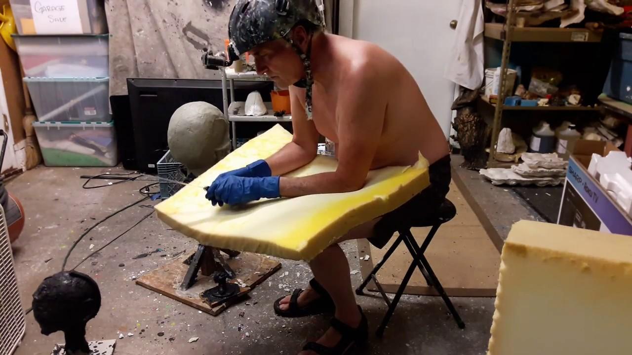 Making foam rubber/latex rubber appendages
