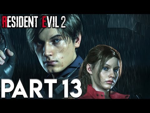 RESIDENT EVIL 2 REMAKE Walkthrough Gameplay Part 13 LABORATORY (RE2 LEON)