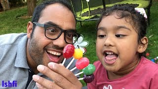 Happy Toddler Ishfi's Fun Moment with Daddy