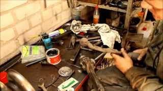 NISSAN TIIDA 1 6 Ремонт рулевой рейки(, 2015-05-19T00:24:43.000Z)