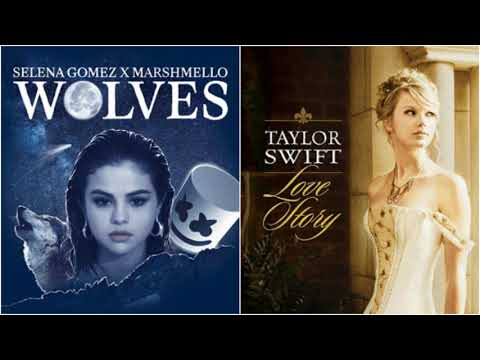Love Wolves - Selena Gomez & Marshmello vs Taylor Swift (Mashup)
