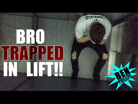 Thumbnail: My bro got stuck in an elevator PRANK!