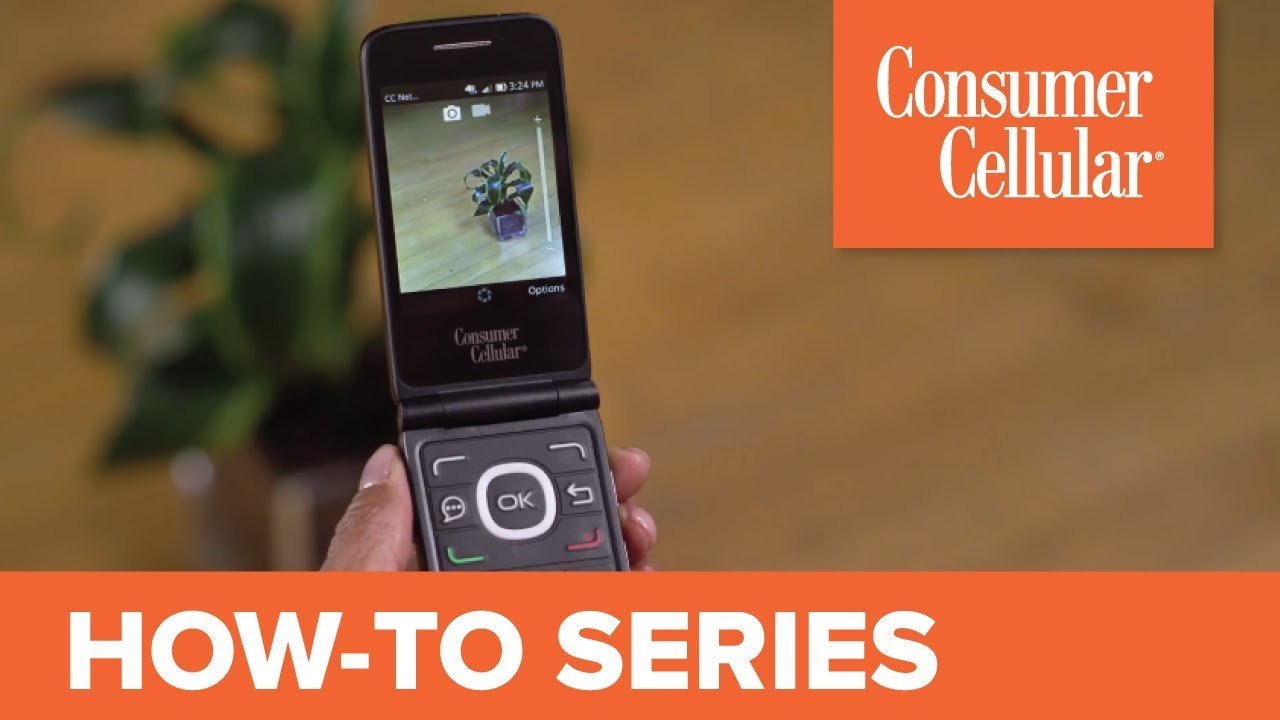 Alcatel Go Flip: Using the Camera (4 of 7) | Consumer Cellular