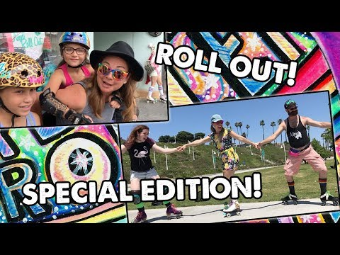 ROLL OUT MUSIC VIDEO w/ JFP! - Planet Roller Skate SPECIAL E