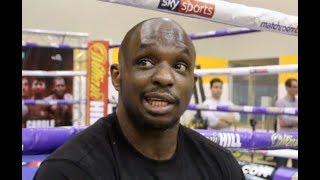 'I TEXT (DONKEY) DERECK CHISORA TO FIGHT ON UNDERCARD, I LIKE ANIMALS' - DILLIAN WHYTE MOCKS CHISORA
