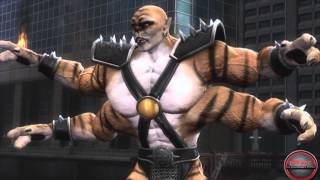 Герои Mortal Kombat Часть 3: Shao Kahn, Cyrax, Sektor, Kabal, Stryker, Smoke, Noob Saibot, Kintaro