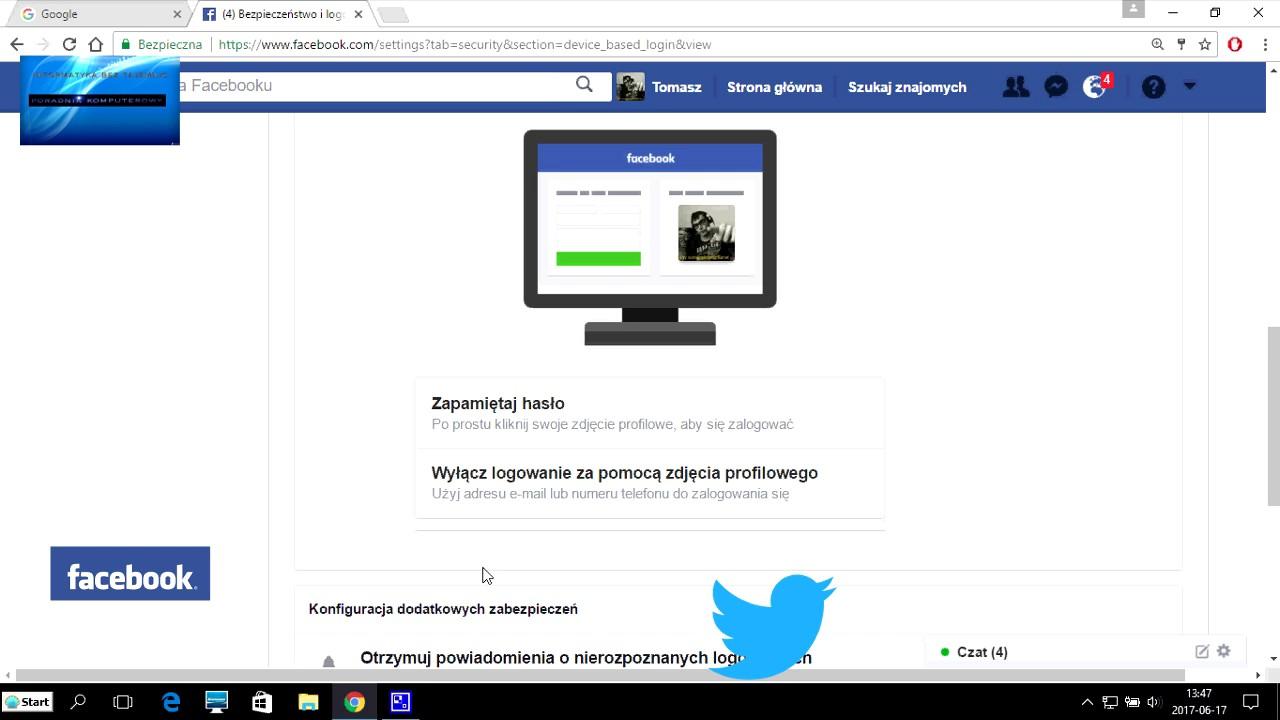 ff875c1b840260 logowanie za pomocą zdjęcia profilowego facebook - YouTube