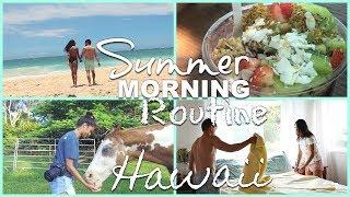 Baixar MORNING ROUTINE in HAWAII | Newlyweds 😍