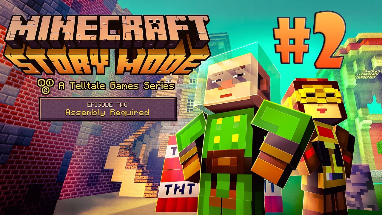 Скачать Minecraft: Story Mode [мод Unlocked] на андроид