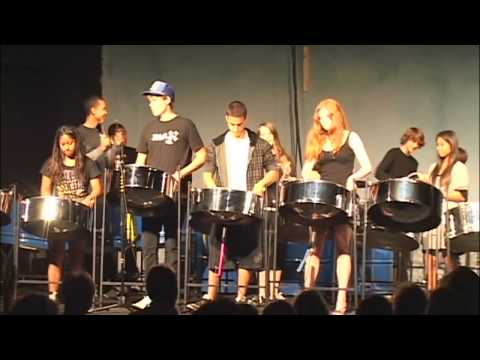 Sing Ram Bam by Campbell Hall Steel Drum Orch 5-17-2008