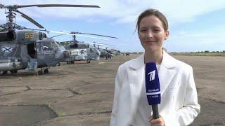 В авиачасти Главного военно-морского парада в честь Дня ВМФ задействованы 48 боевых машин.