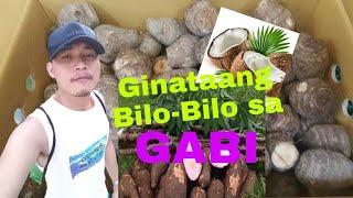 Indigenous ingredients of Ginataang Bilo-Bilo. Paano magluto ng Ginataang Bilo-Bilo sa Gabi?