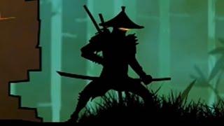 НИНДЗЯ АРАШИ NINJA ARASHI #2 игра как ШАДОУ ФАЙТ Shadow Fight 2 бой с тенью #КИД
