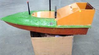 Кораблик для риболовлі. Переробка . Фотки